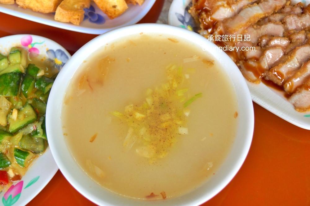 台中古早味傳統肉粥近拍-台中肉粥推薦