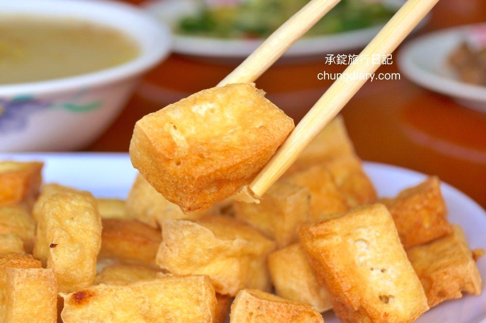 台中上安美食傳統肉粥炸豆腐-台中西屯小吃推薦
