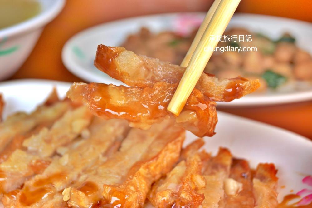 台中上安美食傳統肉粥肉捲-台中西屯小吃