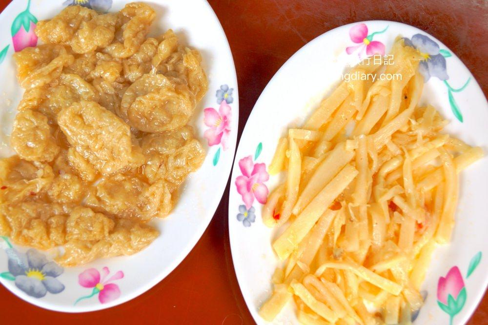 台中肉粥-上安美食小菜-台中西屯小吃
