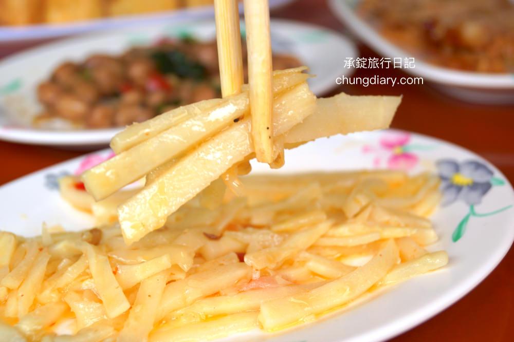 上安美食傳統肉粥涼拌玉筍-台中西屯小吃推薦